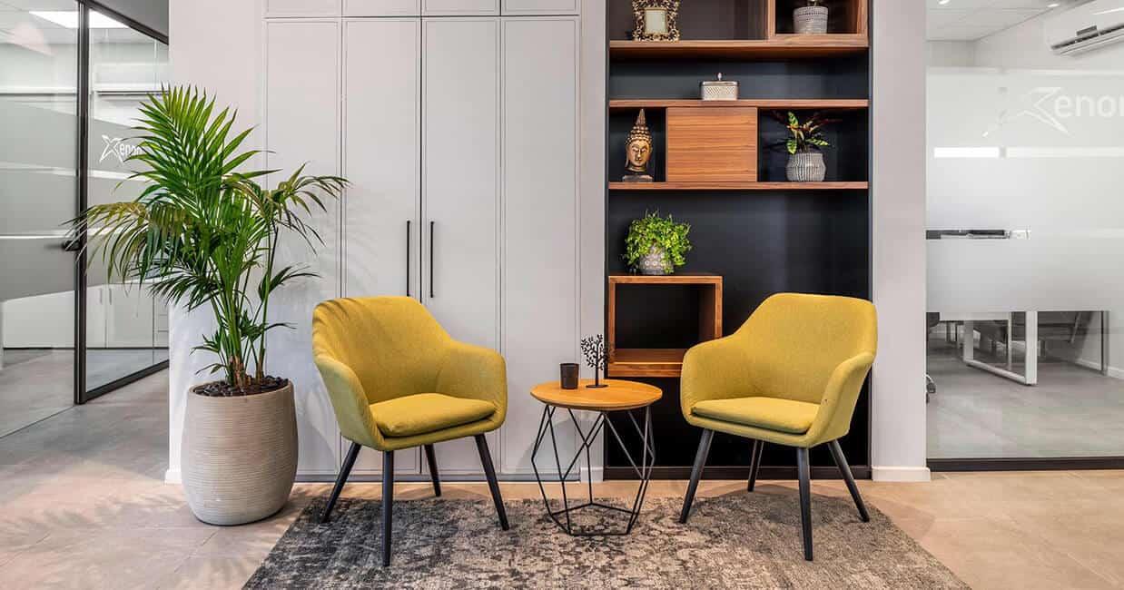 ריהוט משרדי - כיסאות ללובי כניסה למשרד